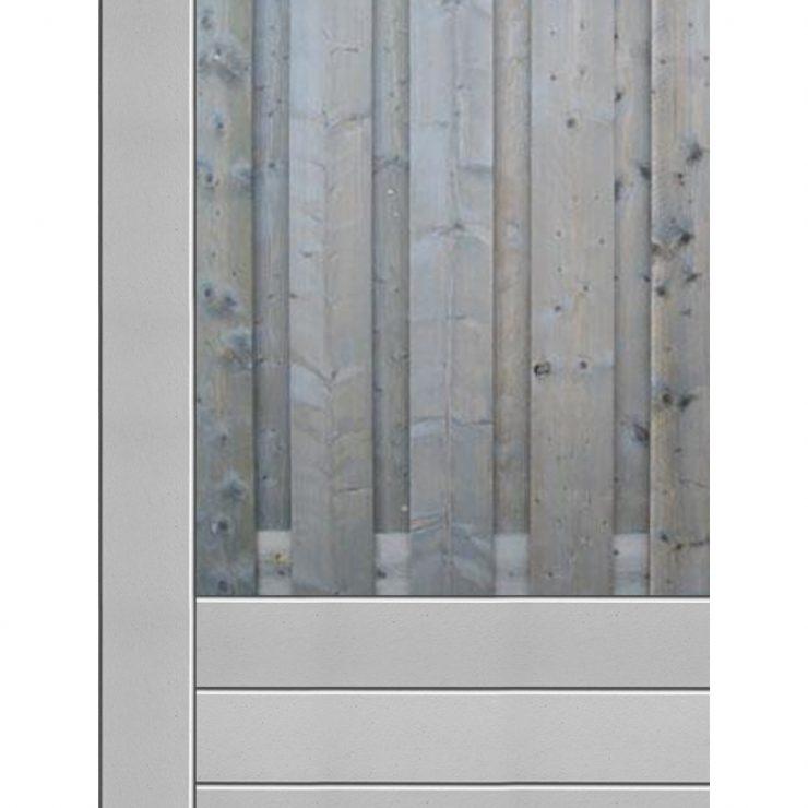 Hout beton schutting bij Schutting33.nl
